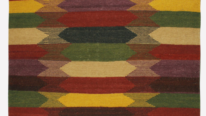 red & yellow outdoor carpet
